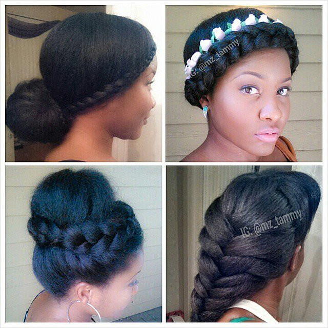 Superb 30 Natural Hair Protective Styles You Can Try Now Gallery Short Hairstyles For Black Women Fulllsitofus