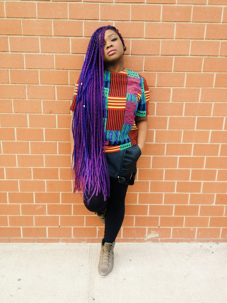 15 Women With Braid Extensions Styles Who Are Not Afraid
