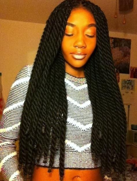 20 Of The Hottest Jumbo Marley Twists Styles Found On