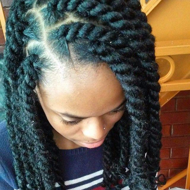 Marley Hairstyles: 20 Of The Hottest Jumbo Marley Twists Styles Found On