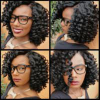 Crochet Braids Shared by Jasmine Jones