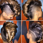 #Slayed that Mohawk @a_marie_3