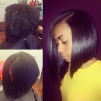 Silk Press Bob By @hairbychantellen – Where Do I Sign Up?