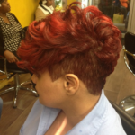 Beautiful Cut And Color By @yattsie_scissorhands