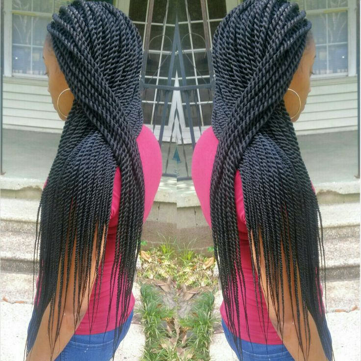 Long Senegalese Twists With Natural Hair newhairstylesformen2014.com
