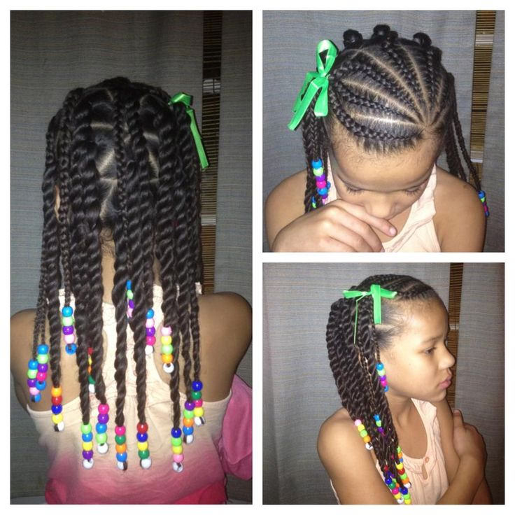 Prime 14 Super Cute And Creative Corn Row Styles For Your Little Girl Hairstyles For Women Draintrainus