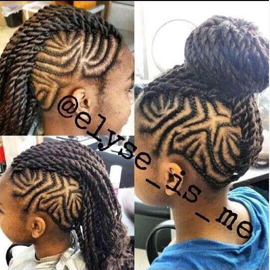 Tremendous 14 Super Cute And Creative Corn Row Styles For Your Little Girl Short Hairstyles For Black Women Fulllsitofus