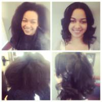 Healthy Relaxer, cut & style by ShaQueen @HairbyVanityStudio