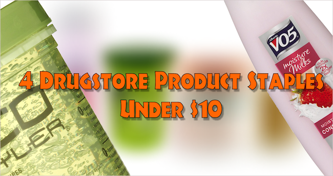4 Drugstore Product Staples Under $10