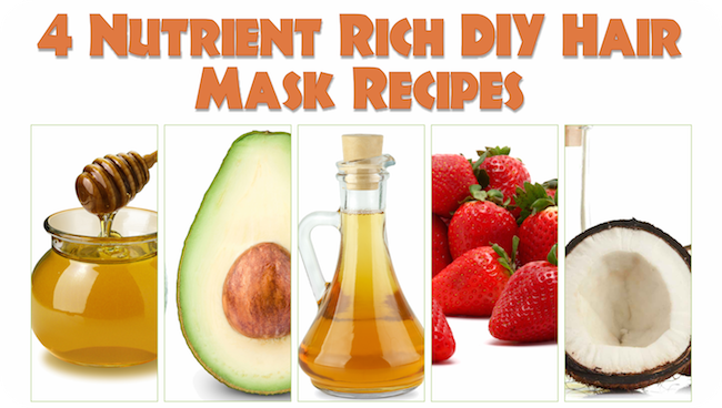 4 Nutrient Rich DIY Hair Mask Recipes
