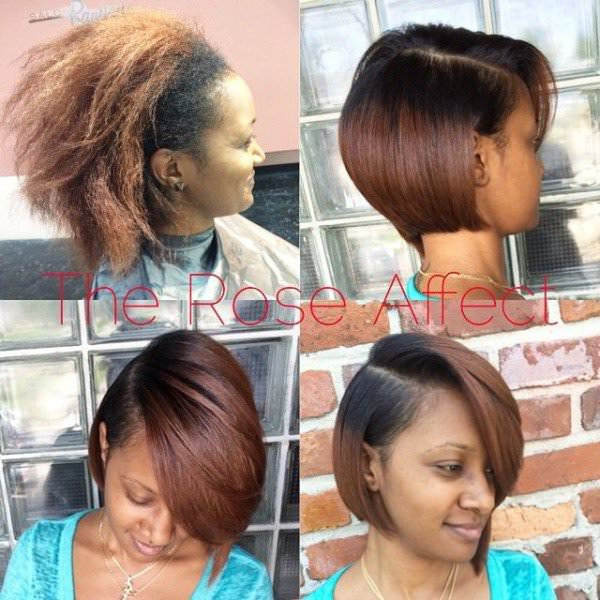 pressed hair styles great work by the rose affect black hair information 4284