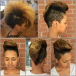 Beautiful Mohawk And Color @hairbylatise