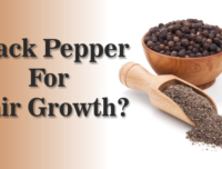 A Black Pepper Hair Growth Recipe You Should Try