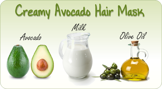 Creamy Avocado Hair Mask