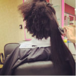 Shrinkage Never Ceases To Amaze Us – 11 Pictures Of Natural Hair Shrinkage That Will Blow Your Mind [Gallery]