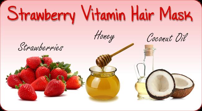Strawberry Vitamin Hair Mask