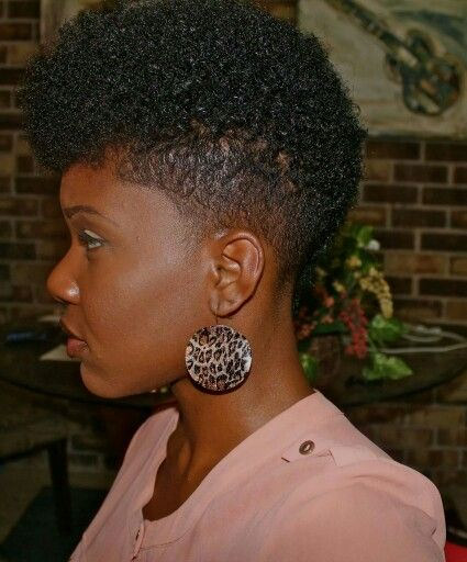 Friday Fro's - 18 Of The Dopest Tapered Fros For Your