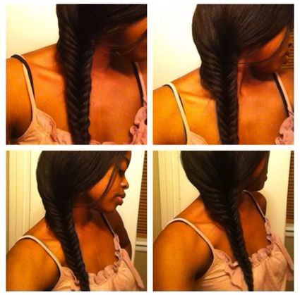 fish tail braid 9