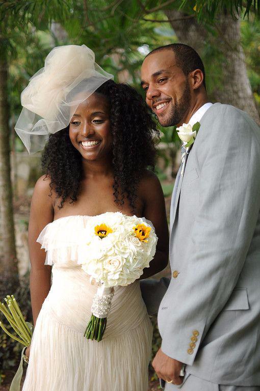 natual hair brides 0