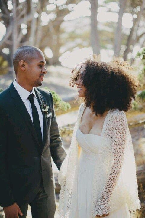 natural hair brides 15