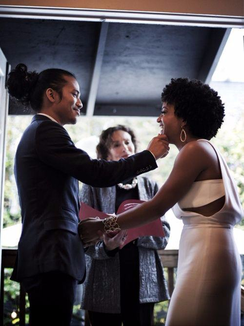 natural hair brides 20