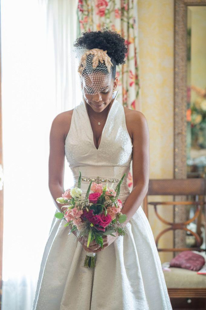 natural hair brides 21