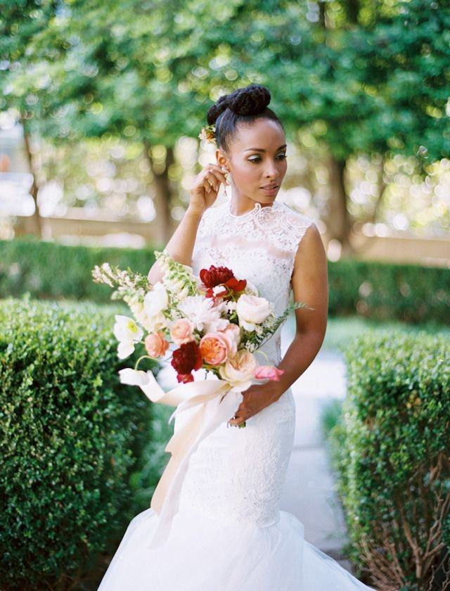 natural hair brides 23