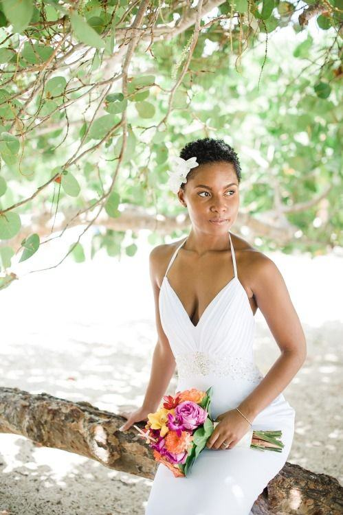 natural hair brides 25