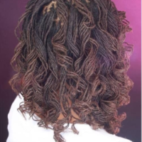 Spiral Curled Locs