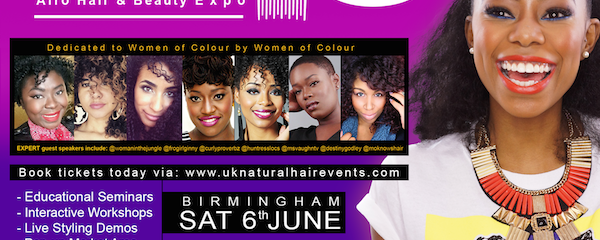 The WITJ Natural Hair & Beauty Expo UK – Birmingham & London UK