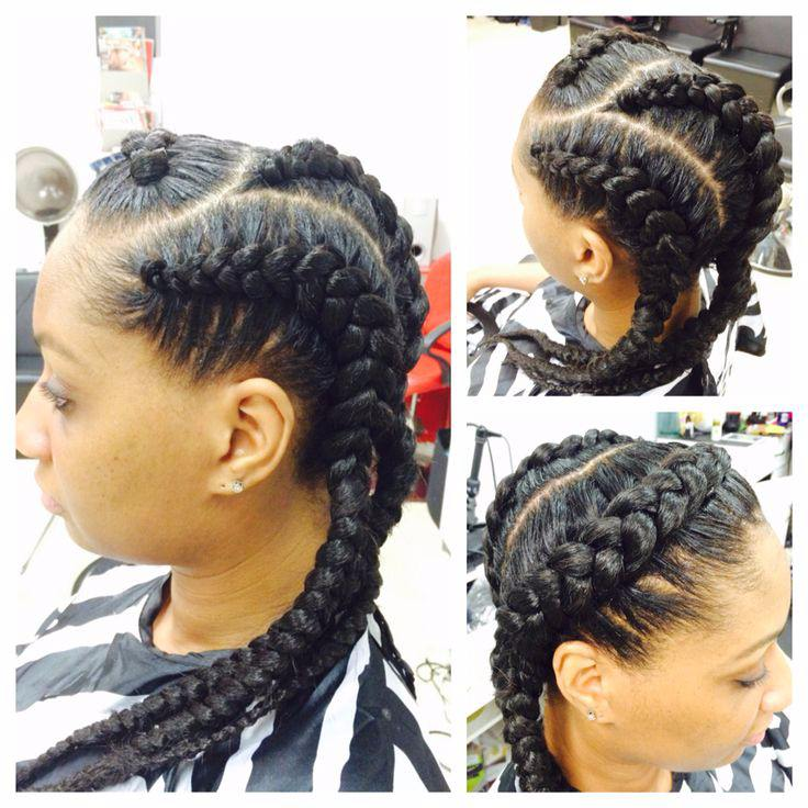 19 More Big Cornrow Styles To Feast Your Eyes On