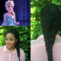 Boston University Student, Summer Arlexis Proves That Black Girls Can Recreate Disney Princess Hairstyles Too [Gallery]