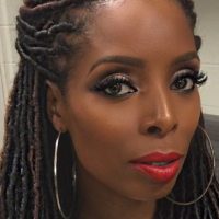 Tasha Smith Slaying Some Faux Locs [Gallery]