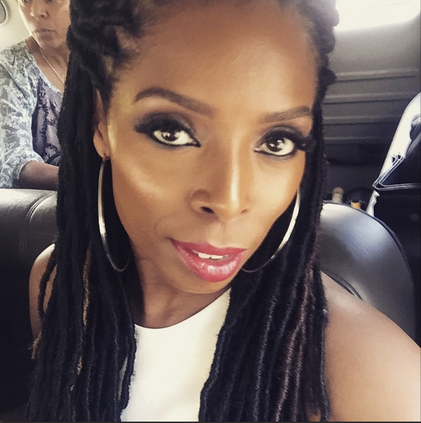 Tasha Smith Slaying Some Faux Locs 6