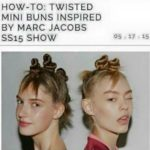 Mini Buns Inspired By Marc Jacobs??- My Solution To The Cultural Appropriation Problem In The Hair Industry