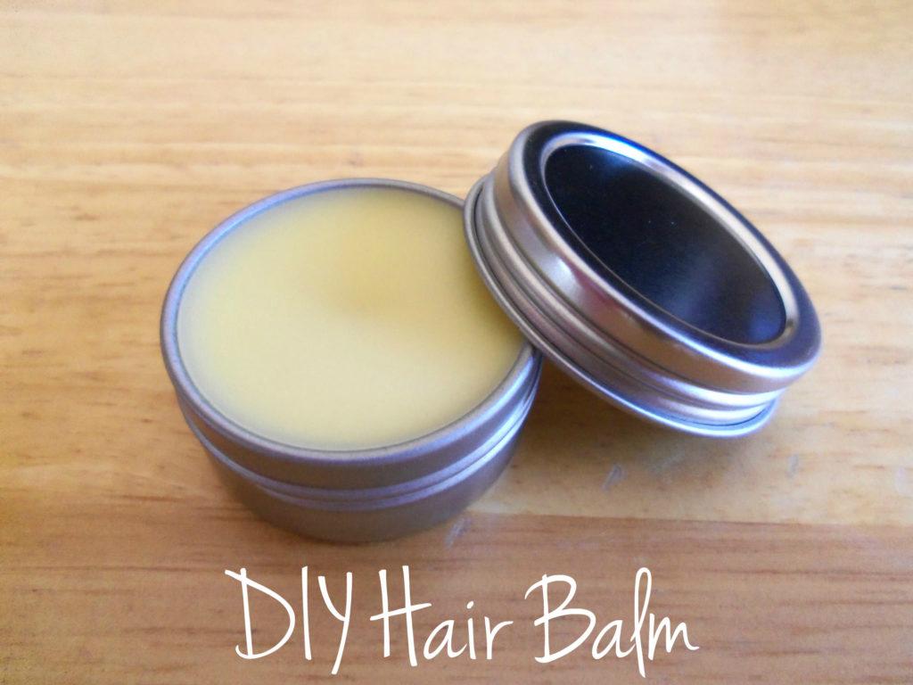DIY Hair Balm