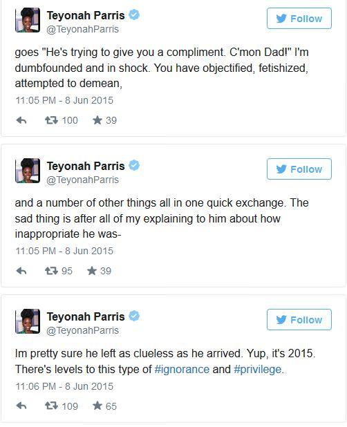 Teyonah Parris Tweets 1