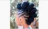 Bantu knots 0987