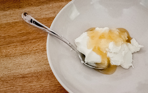 honey and yogurt