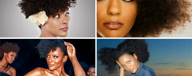 Meet Cyrene Renee, Model, Mom, Air Force Veteran And A Total Natural Hair Babe