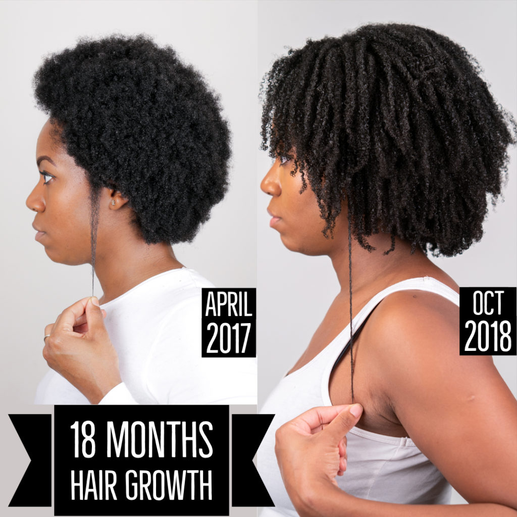 18 Month Length Check @healthyafrohair