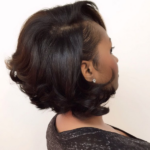 Bob…Soft curls…. perfection! @hairbylatise
