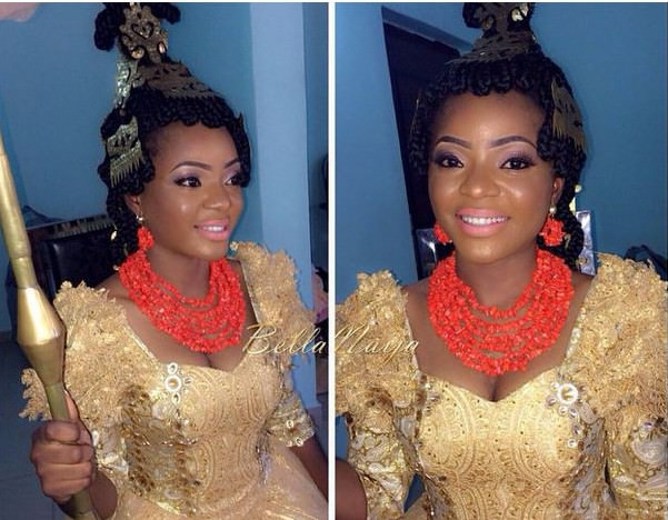 This Efik bride