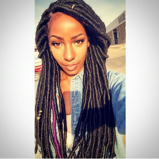 Faux Locs Styles Www Imgkid Com The Image Kid Has It