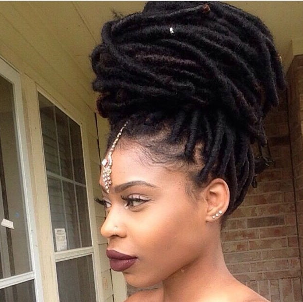 Are You Accessorizing Your Faux Locs 15 Faux Locs