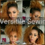 VERSATILE CURLY SEWIN FOR SHAVED SIDES [Video]