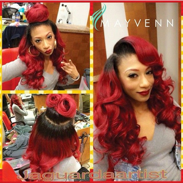 Need sew in ideas 17 more gorgeous weaves styles you can try weave 45 pmusecretfo Gallery