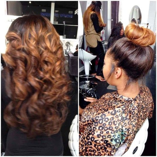 ... More Gorgeous Weaves Styles You Can Try For Your Next Sew In [Gallery
