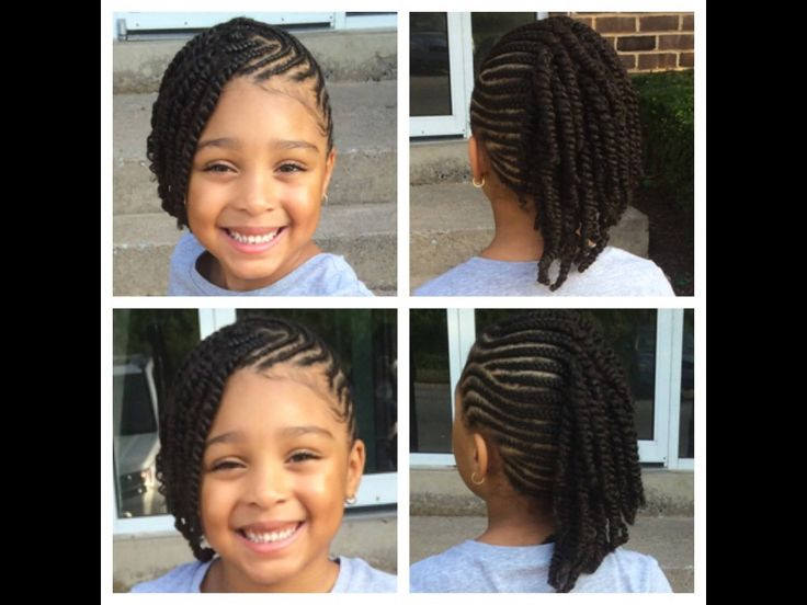 Surprising 15 Braid Styles For Your Little Girl As She Heads Back To School Natural Hairstyles Runnerswayorg