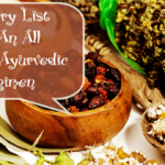 Grocery List For An All Natural Ayurvedic Hair Growth Regimen